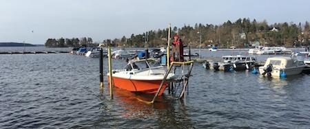 Felaktigt datum sjösättning med lilla vagnen