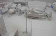 Snötyngda presseningar